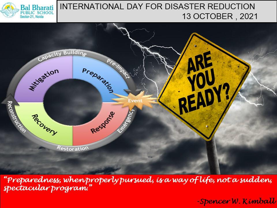 International Day for Diaster Risk Reduction1