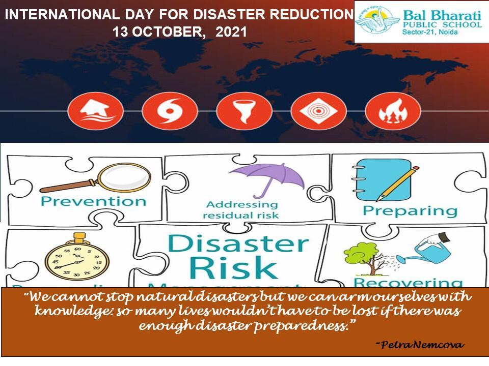 International Day for Diaster Risk Reduction2