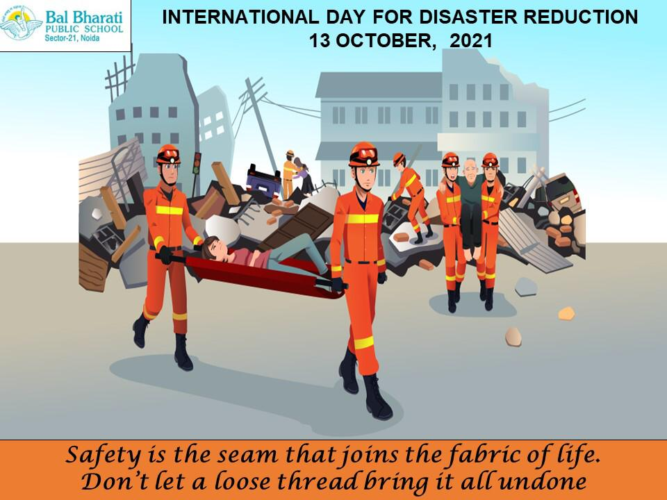 International Day for Diaster Risk Reduction3