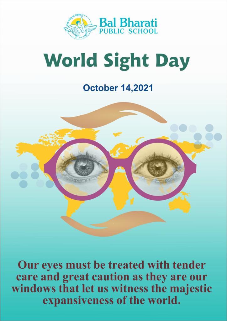world sight day 14th oct 2021